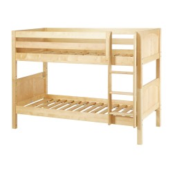 HOTSHOT / TWIN OVER TWIN BUNK BED WITH STRAIGHT LADDER