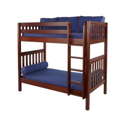 TALL / EXTRA HIGH MAXTRIX TWIN OVER TWIN BUNK BED