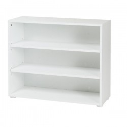 3 SHELF MAXTRIX BOOKCASE IN WHITE