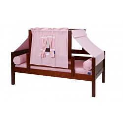 YO23 / TWIN DAYBED WITH BACK & FRONT GUARD RAIL & TOP TENT