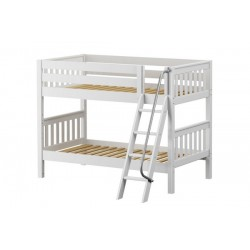 HOTHOT / TWIN OVER TWIN BUNK BED WITH ANGLE LADDER