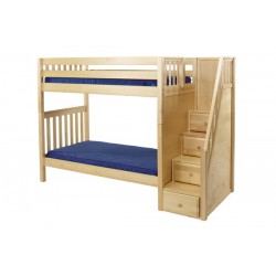 WOPPER / EXTRA HIGH MAXTRIX TWIN OVER TWIN BUNK BED