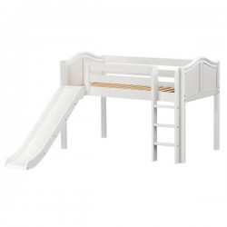 MARVELOUS WP / MAXTRIX TWIN LOW LOFT BED WITH SLIDE