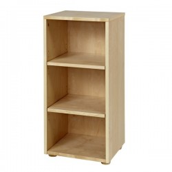 3 SHELF MAXTRIX NARROW BOOKCASE IN NATURAL