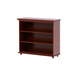HUGE 3 / 3 SHELF MAXTRIX BOOKCASE IN CHESTNUT