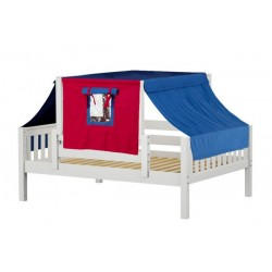YES21 / FULL DAYBED WITH BACK & FRONT GUARD RAIL & TOP TENT